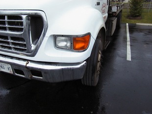 Second truck after