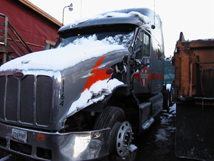 Fifth truck before